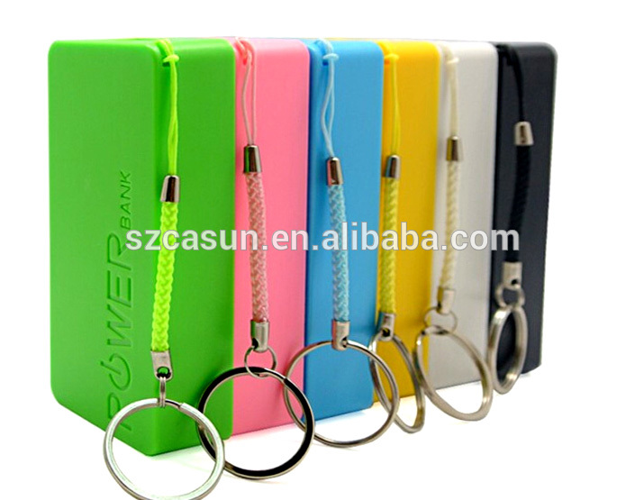 Latest rohs power bank 5600, promotional gifts power bank