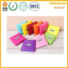 Eco folding shopping bag for market promotion
