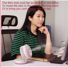 F4 Misting cooli fan & Beauty moisture / hot selling portable misting fan with water spray india