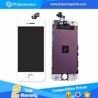 Wholesale - front assembly lcd display + touch screen digitizer for iPhone 5 5G Black White