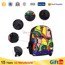 Polyester Foldable promotional backpack,backpack pu,basketball backpack