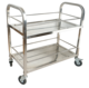 Hot Selling Stainless Steel Hotel Wine Trolley/Liquor Cart/Wine Service Cart