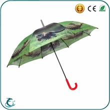 hot sale custom safe material cheap cat printing kid umbrella