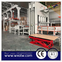 Automatic Melamine Ecological Plate Hot Press