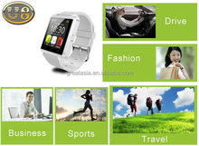 Alibaba china most popular gps u8 watch for mobile phone