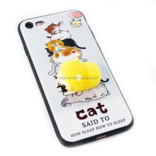 3D Soft Silicone Cartoon Cute Squishy Animal TPU Phone Case For Iphone 7 7plus