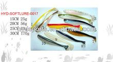HYD-SOFTLURE-0017 15/20/25/30cm fishing bait soft fishing lure fishing bait