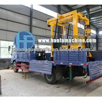 HFT-3 truck mounted Geological exploration drilling machine with diamond bit and core barrel