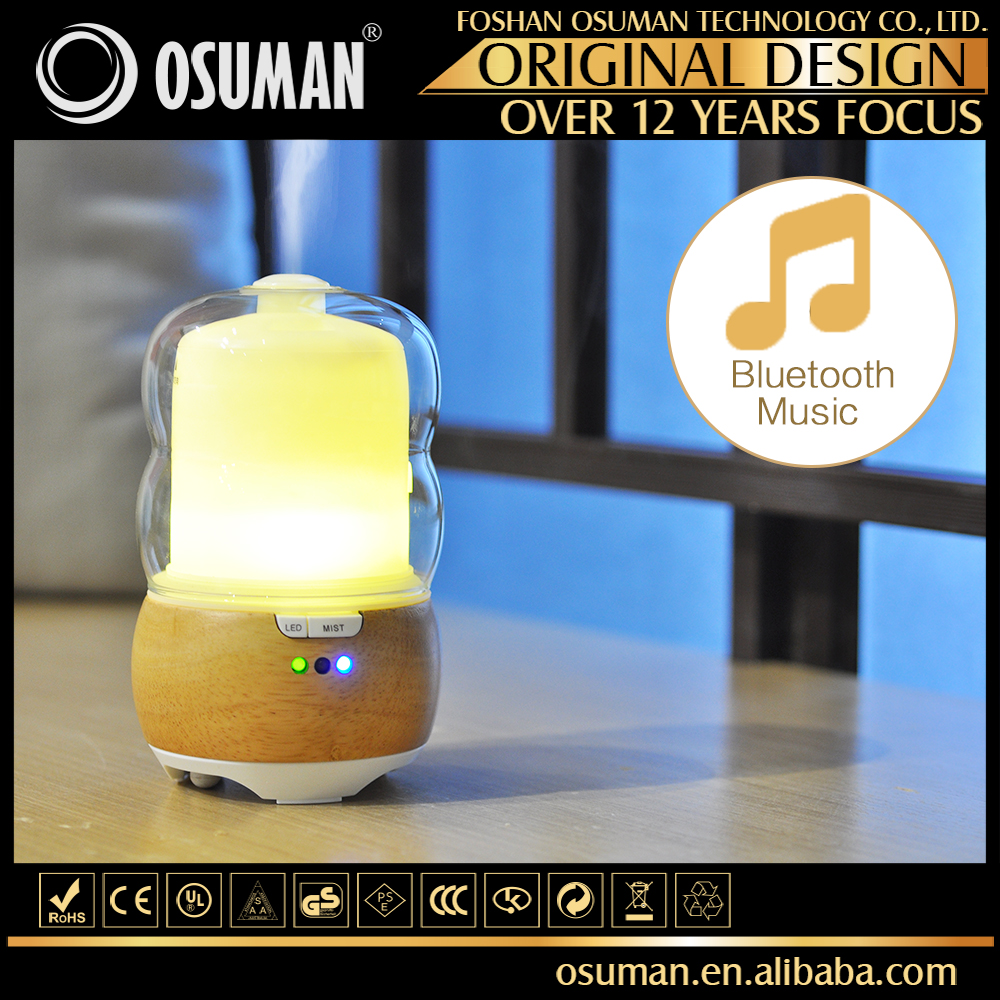 Bluetooth Ultrasonic Aroma Music Speaker Essential Oil Electric Diffusers