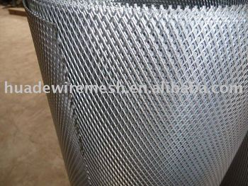 expanded metal roll, expanded metal panel, Aluminum expanded wire mesh