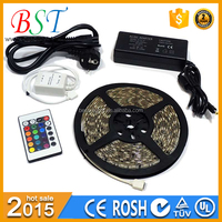 Controller+power supply IP65 waterproof SMD3528 RGB LED Strip light kit