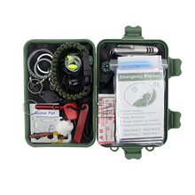 Survival Kit Contains 26 Lifesaving Emergency Tools for Home, Outdoors Hiking Camping Disaster Preparedness & Wilderness Adventu