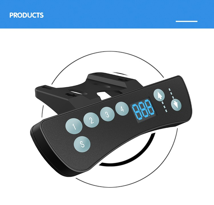 Jiecang JCHT35J LED display 4 memory positions function lifting table hand control