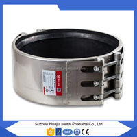 Pipe Connector Plug PVC Pipe Stainless Steel Straub Coupling huajia Repair Clamp China Manufacture