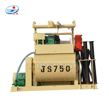 china manufacturer JS750 twin shaft concrete Mixer drawing Machine equipment with Lift for construction
