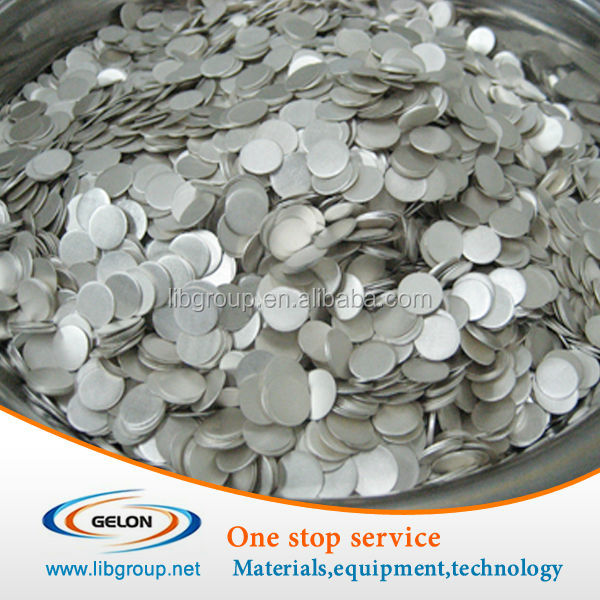CR2032 coin cell cases (20d x 3.2t mm) with O-rings for Battery materials