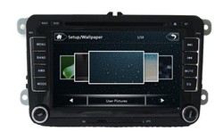 Navigator Passat B6/VW Polo Car Radio with CE and ROHS Certificates