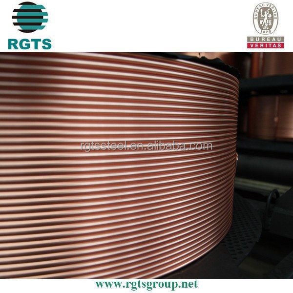 copper pipe in coil for air conditioner