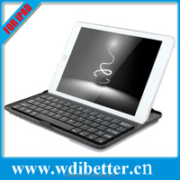 Professional Silver Mobile Bluetooth 3.0 Keyboard with Charging Cable for iPad Mini 2