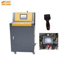 vehicle engine repair carbon emission system cleaning machine