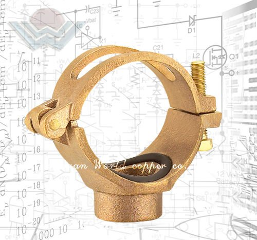 Bronze High temp pipe clamp