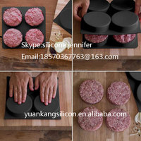 4 in1 Press Burger Silicon in Meat & Poultry Tools