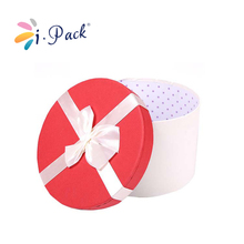 wholesale custom cylinder shape paper gift box