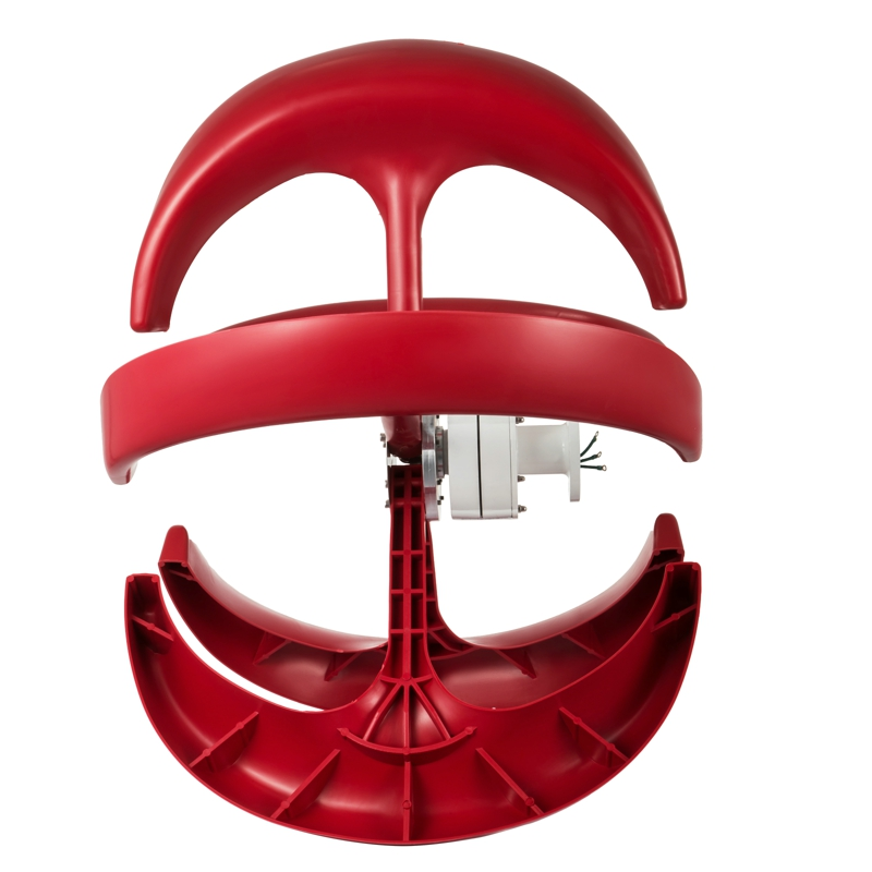 200W <strong>24V</strong> small vertical <strong>Wind</strong> Power Generator Red Lantern Style <strong>Wind</strong> <strong>Turbine</strong> Street Lamp
