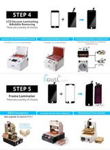 Full set of Easy Operate ca lamination machine for iphone sansung lcd