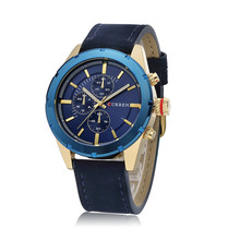 Top Luxury Brand Watches Men relogio masculino CURREN 8154 Quartz Watches Military Movement Waterproof Wristwatch Men Wristwatch