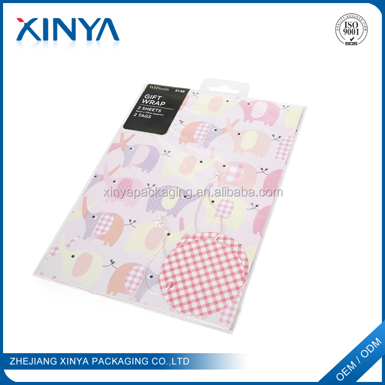 XINYA 2016 New Products Gift Box Wrapping Paper Custom Printed Wrapping Tissue Paper