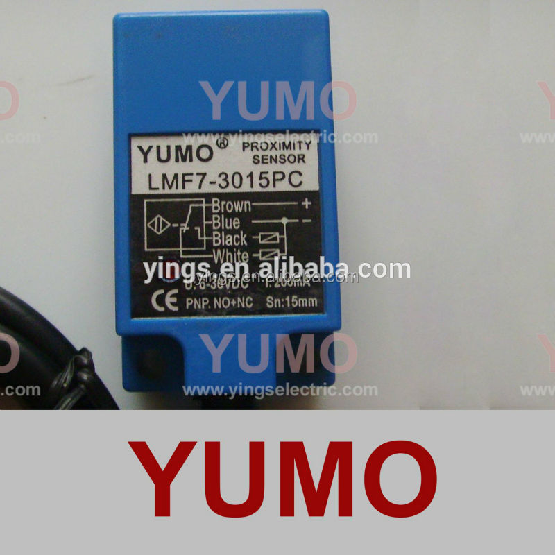 LMF7-3015PC YUMO CE approved angular column inductive sensor factory price