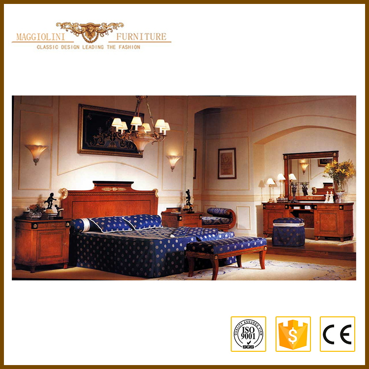 Noble house customized wood root bedroom furniture