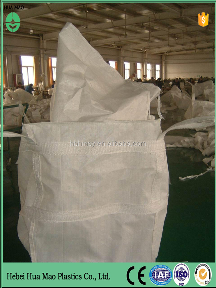 Building industry cement fly ash bulk bag 1.5 ton pp jumbo bag/1.5ton super sacks