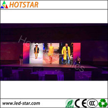 Alibaba Super fasion digital signage advertising P2.97 for live shows/ meeting/events/TV Station/wedding ceremony