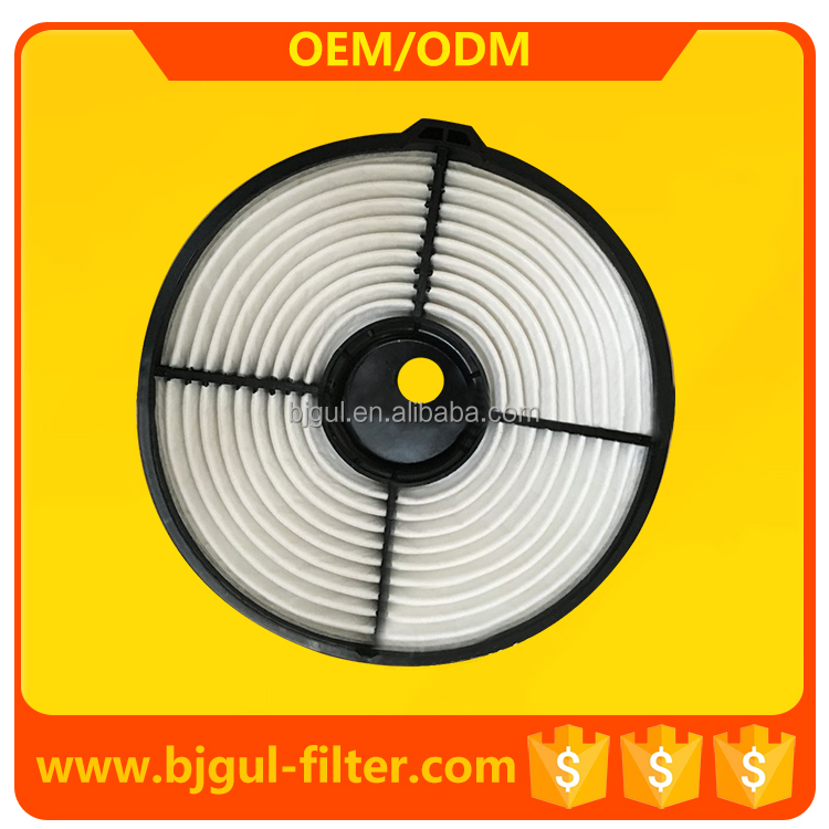 high quality car air filter 17801-15060 for auto parts