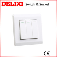 New design white wall switch push button