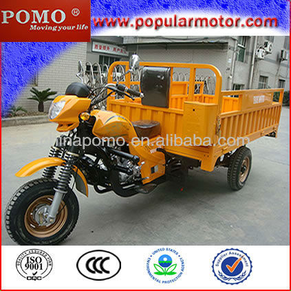 Hot Popular New Gasoline Motorized Large Heavy 300cc Trike Scooter