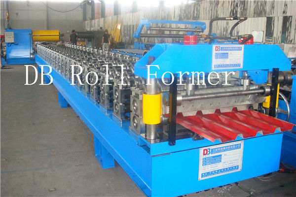YX840 glazed steel tile roll forming machine