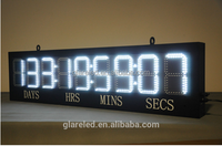888:88:88:88 led countdown timer and White Color Digital Day Countdown