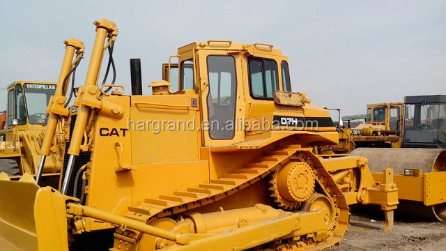 used crawler dozer caterpi'llar d7h bulldozer