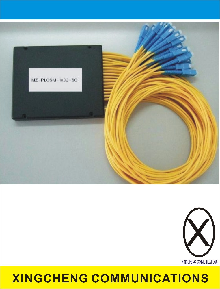 GPON System 1*32 fiber optic distribution box optical splitter