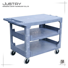 Manufacture good quality Utility Shelf Bus Service Storage Bins Carts