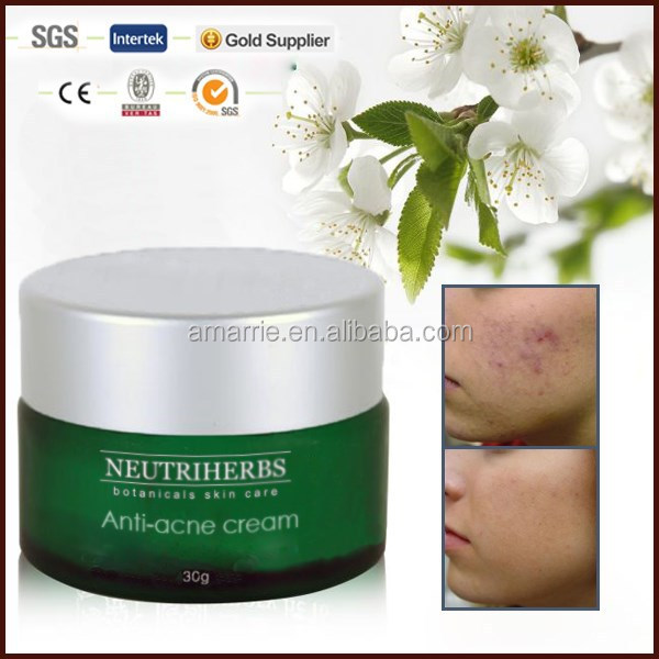Herbal green tea anti acne pimples and scar removing acne peeling cream