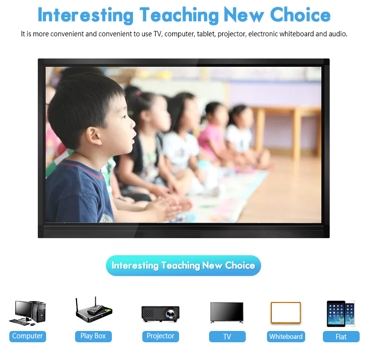 rohs certified 50 inch Infrared touch interactive electronic whiteboard prices