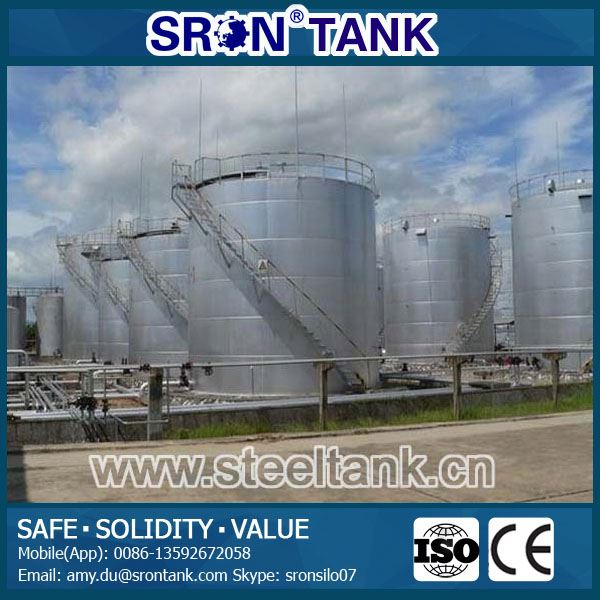 Safety Guaranteed Paraffin Tanks Internal Anti-Corrosion Oil Tanks