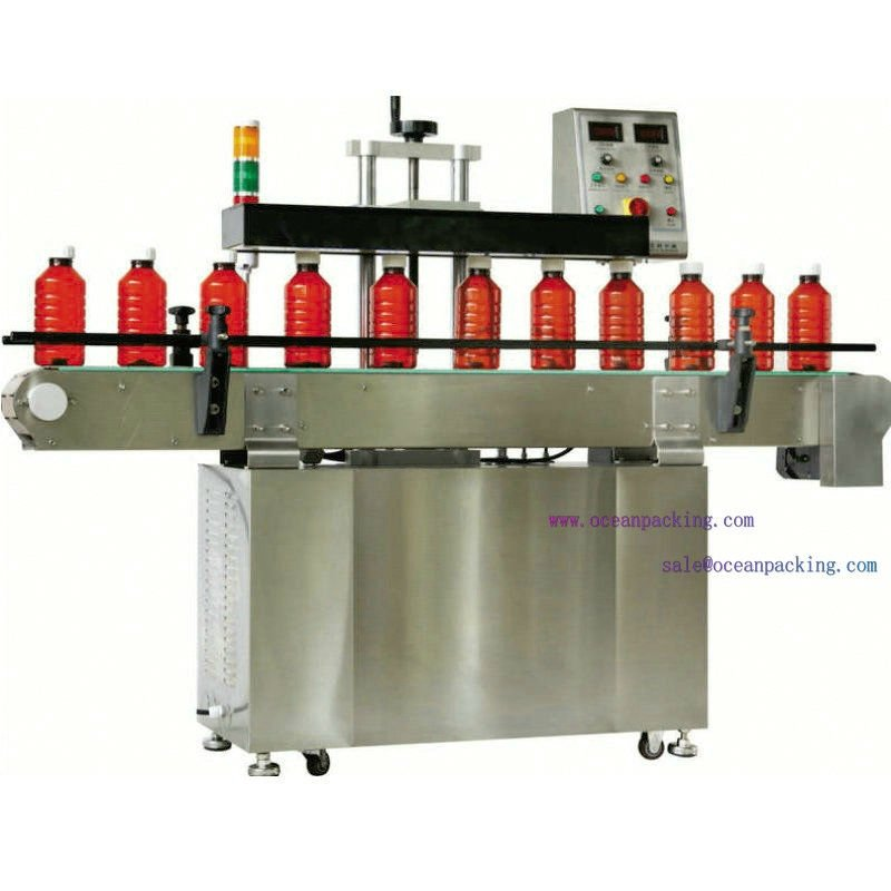 high speed automatic bottle sealing machine with water cooling system