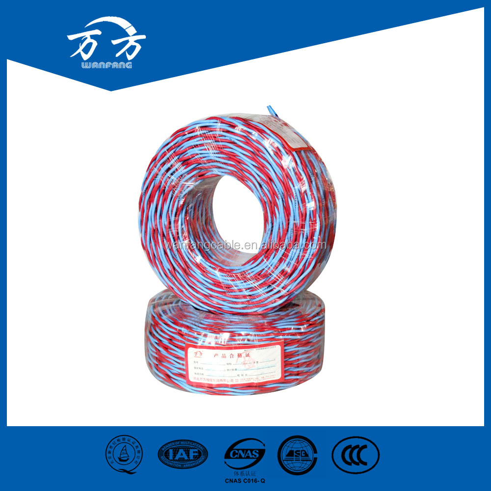 PVC Insulated Type Solid Stranded Flexible Copper Conductor 16mm single core electric cable and wire