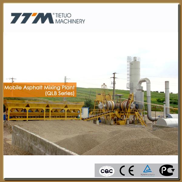 Mini Asphalt Plant : T h mobile asphalt plant for sale small