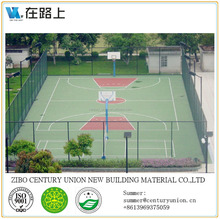 basketball court flooring material, raw materials for basketball, outdoor basketball court flooring